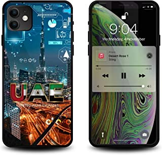 WOWPaaji iPhone 11 case with illuminated Led Flash lights, Smart Voice Activated Glowing iphone case, Shockproof Tempered ...