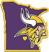 Minnesota City Viking Football Logo Die-Cut Decal Sticker Set of 4 Pieces 5 Longer Side