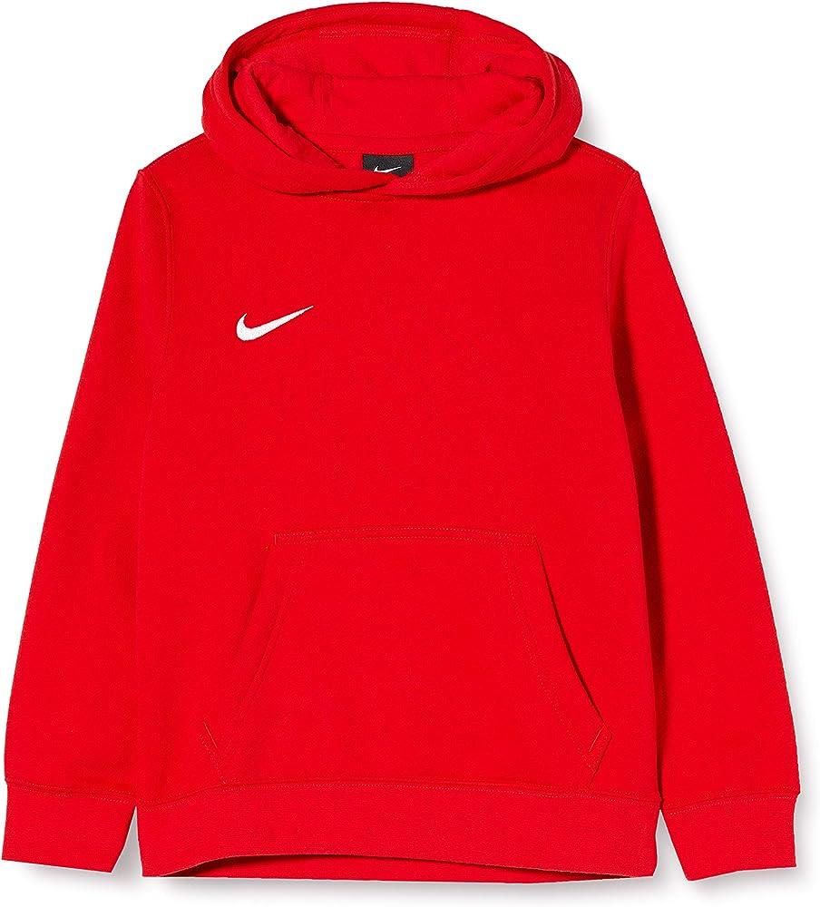 Nike club19 full-zip, felpa con cappuccio unisex per  bambini e ragazzi,in 80% cotone, 20% poliestere AJ1458