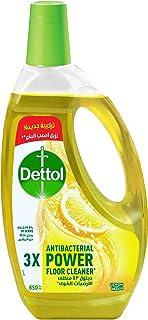 Dettol Liquid 4 in 1 Multi Action Cleaner - Lemon Fragrance, 650 ml