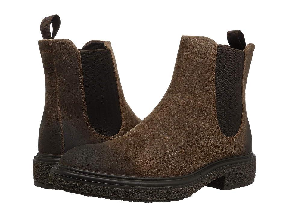 ECCO Crepetray Boot (Cocoa) Men
