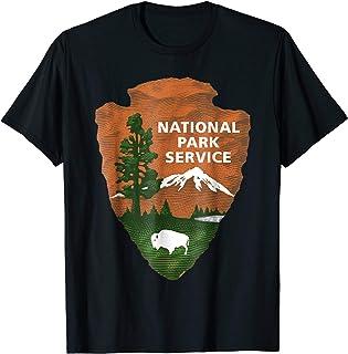 de706981 National Park Service Logo T Shirt For Mens Womens