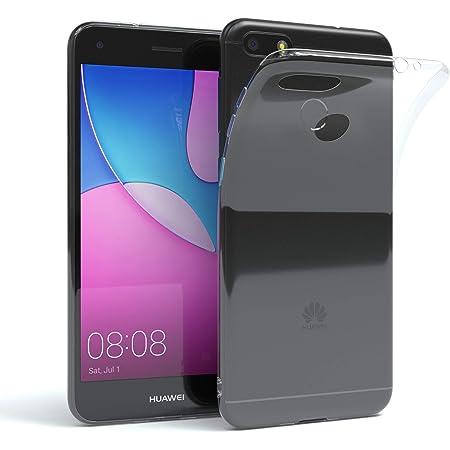 Aicek Huawei Y6 2017 Hülle Transparent Silikon Elektronik