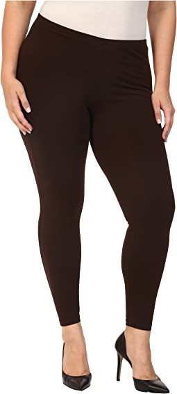 HUE Plus Size Cotton Legging