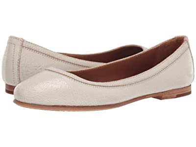 Frye Carson Ballet (Off-Whte Painted Suede) Women