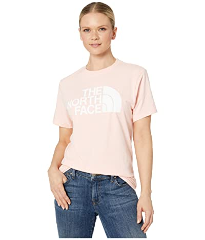 The North Face Half Dome Cotton Short Sleeve Tee (Impatiens Pink) Women