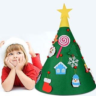 con albero rotante Zebery casetta natalizia con luci a LED