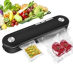 Vacuum Sealer Machine, 2020 NEW Automatic Food Sealer for Food Saver Storage, Heavy Duty..