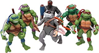 MALUNGMA Ninja Turtles 6 PSC Set - Teenage Mutant Ninja Turtle TMNT Action Figures - Michelangelo Leonardo Raphael Donatello Splinter Shredder