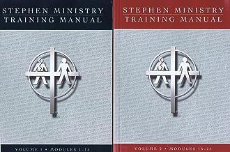Stephen Ministry Training Manual Vol. 1 & 2