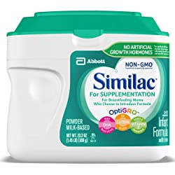 Similac For Supplementation Infant Formula with Iron, Powder 23.2 Ounce