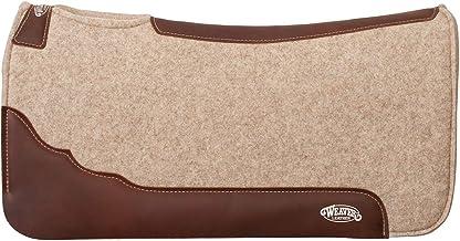 Weaver Leather Contoured F10 Virgin Merino Wool Felt Saddle Pad