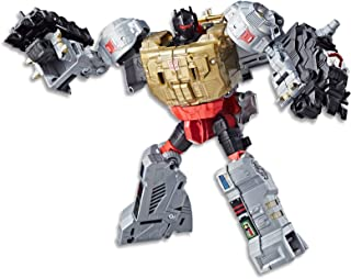 """TRANSFORMERS 7"""" Grimlock Action Figure - Power of the Primes Evolution - Movie Inspired - Kids Toys - Ages 8+"""