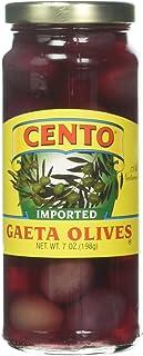 Cento Imported Gaeta Olives Jars, 7 Ounce