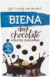 biena chocolate covered chickpeas