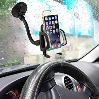 HYLong Universal 360¡ã Rotating Car Windshield Mount Holder Stand for Mobile Cell Phones