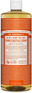 Dr. Bronner's Pure-Castile Liquid Soap – Tea Tree 32oz