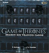 game of thrones trading cards season 6