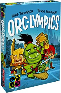 BRAIN GAMES Orc-lympics Card Game - A Fun Game of Tactics and Decision Making - Play with Kids Age 8+, Teenagers and Adult...