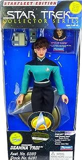 STAR TREK Playmates The Next Generation Starfleet Deanna TROI 9 Inch Figure Playmates