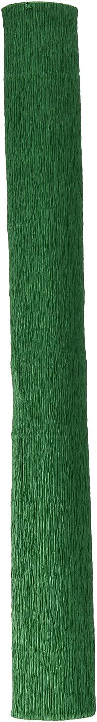 Makro Paper fcpdgn/600330?–?Crepe Paper, Pack of 10, 50?x 250?cm, Dark Green