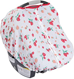 little unicorn muslin car seat cover