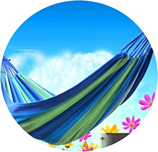 Thicken Canvas Garden Swing Hammock Outdoor Single 2 Person Dormitory Camping Hammocks 20080 200100 200150cm,B100