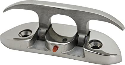 """Extreme Max 3006.6631 Folding Stainless Steel Cleat – 4-1/2"""""""