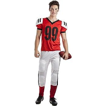 Disfraz de Jugador de Rugby Talla S: Amazon.es: Juguetes y juegos