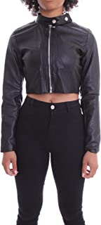 Luxury Fashion   J'aimè Women 9810JNERO Black Polyester Outerwear Jacket   Spring-summer 20