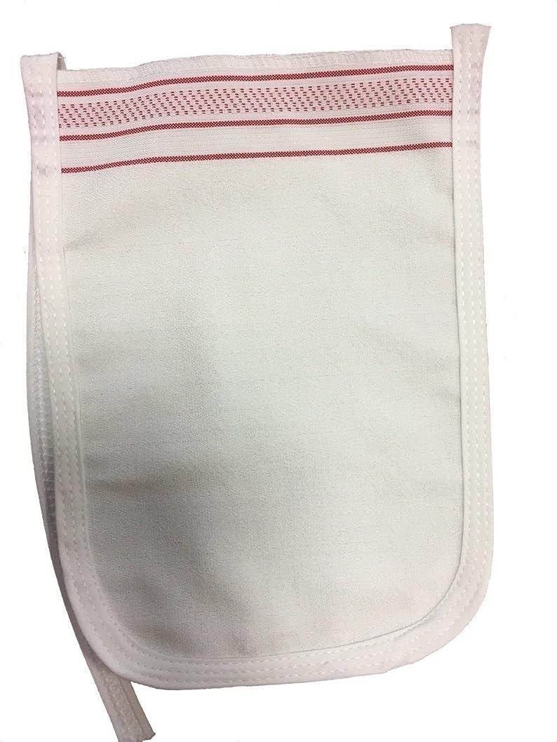 なめらかな陸軍Kelebek Kese トルコのハマム風呂手袋皮膚剥離スパでは、ミットをkeses 白