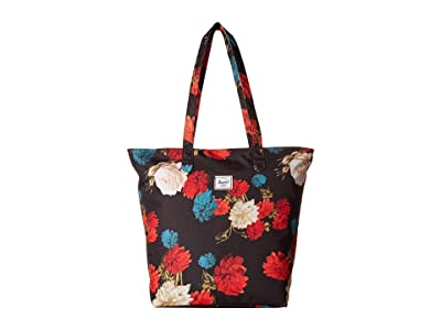 Herschel Supply Co. Mica (Vintage Floral Black) Tote Handbags