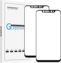(2 Pack) Orzero for Xiaomi Mi 8 Tempered Glass Screen Protector, 2.5D Arc Edges 9 Hardness HD Anti-Scratch Full-Coverage (...