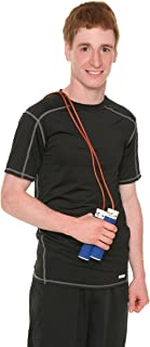 All Pro Weight Adjustable Weight-To-Jump Leather Jump Rope, 2-Pound