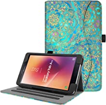 Fintie Case for Samsung Galaxy Tab A 8.0 2017 Model T380/T385, Multi-Angle Viewing Stand Cover with Auto Sleep/Wake for Galaxy Tab A 8.0 Inch SM-T380/T385 2017 Release, Shades of Blue