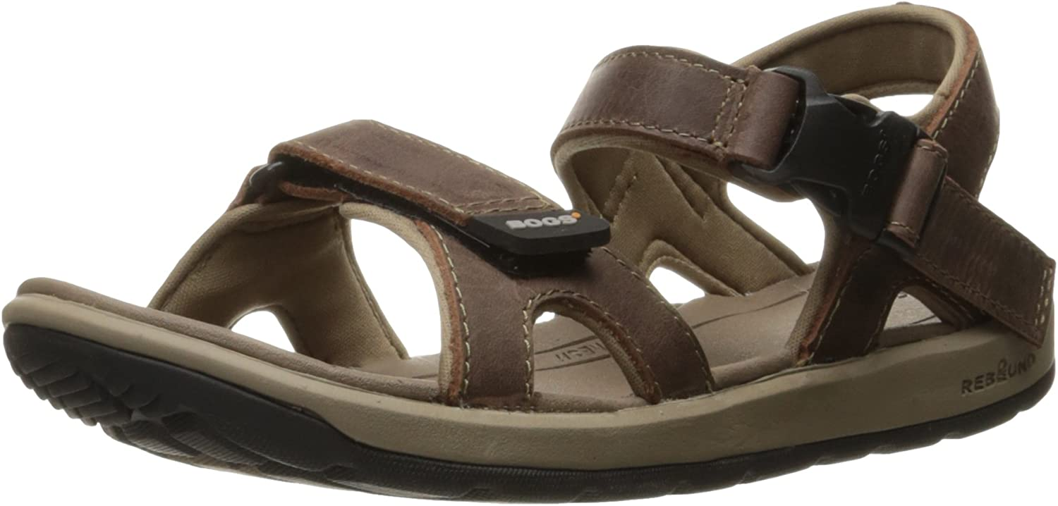 Bogs Womens Rio Leather Sandal Athletic Sandal