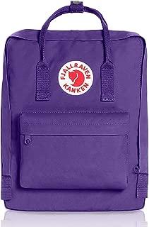 Fjallravens- Kanken Classic backpacks for Everyday,Outdoor Bags,Sweden Laptop,Greenland Zip wallet,Raven,Re-Kanken ,mini,Raven (Purple)