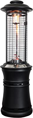 Lava Heat Italia LHI-EMBER-51BTU-BLK-NG Patio Heater Ember Natural Gas, 51000 BTU, Matte Black