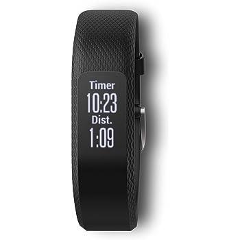 Garmin vívosmart 3, Fitness/Activity Tracker with Smart Notifications and Heart Rate Monitoring, Black ,Small-Medium