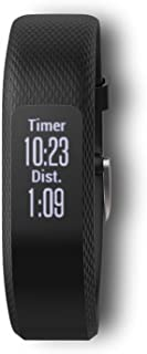 Garmin vívosmart 3,  Fitness/Activity Tracker with Smart Notifications and Heart Rate Monitoring,  Black , Small-Medium