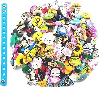 30pc Random Shoe Charms + 1pc Kids Bracelet For Croc...