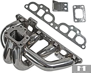 M2 Performance Nissan 240SX 89-98 S13/S14 SR20DET Stainless Steel Turbo Exhaust Bottom-Mount Manifold