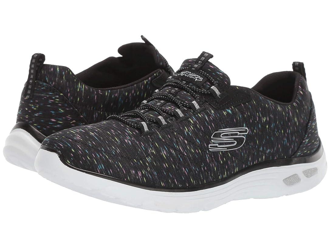 メロディアス規則性酸素レディーススニーカー?ウォーキングシューズ?靴 Empire D'Lux Black Multi 11 (28cm) B [並行輸入品]