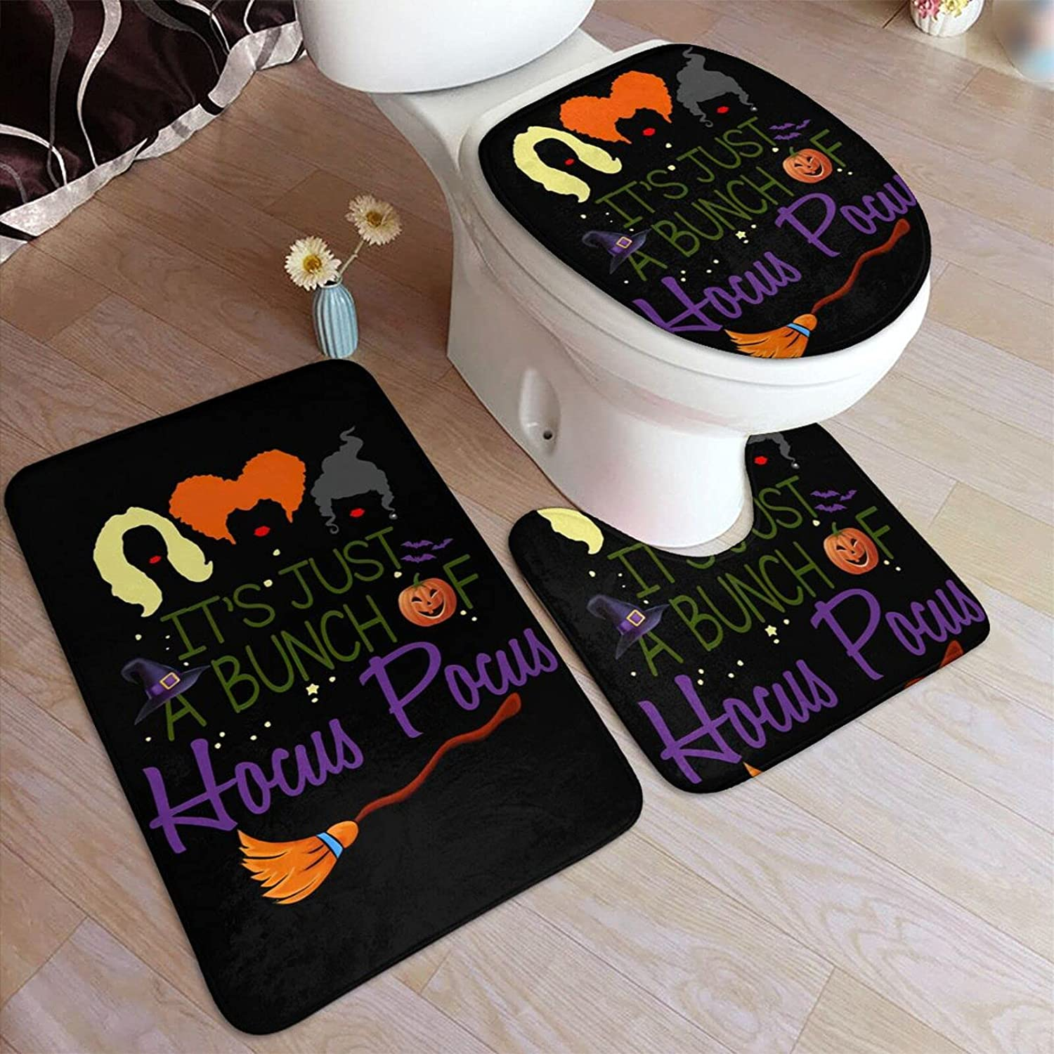 Kpopbaby It's Max 66% OFF Just A Bunch of Rug Mats Pocus Bathroom Large discharge sale Hocus Set