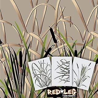 Redleg Camo GK3 3 Piece Grass Wetland Duck Camouflage Stencil kit 14