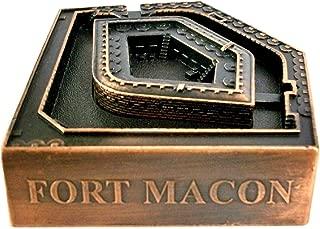 Fort Macon North Carolina Die Cast Metal Collectible Pencil Sharpener