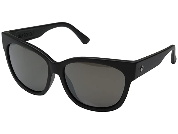 Electric Eyewear Danger Cat (Dark Chrome/Optical Health Through Melanin Dark Silver Chrome) Fashion Sunglasses