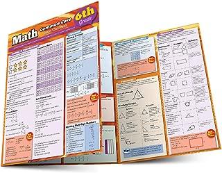 Math Common Core 6Th Grade (Quick Study)