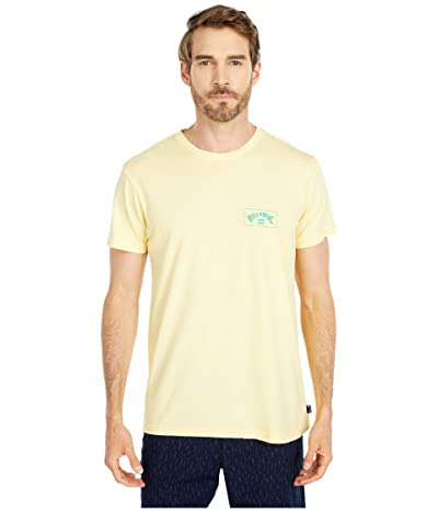 Billabong Arch Short Sleeve T-Shirt (Lemon) Men