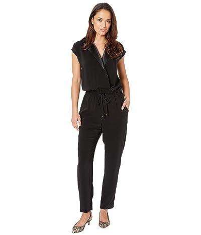 LAUREN Ralph Lauren Crepe Jumpsuit (Polo Black) Women